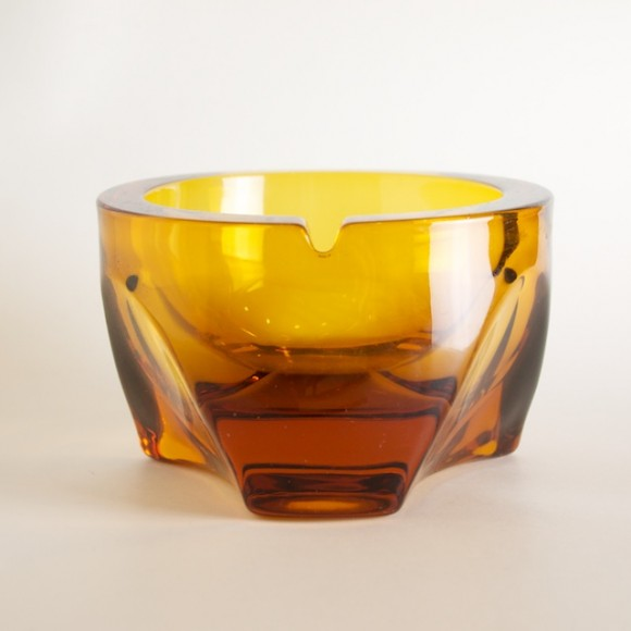 Viking Glass Ashtray