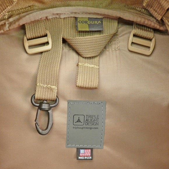 Made in the USA with 1000 Denier DuPont Cordura
