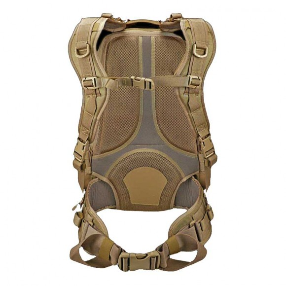 Two-Removable-Compression-Shoulder-Straps-with-D-Rings,-Horizontal-Sternum-Strap-and-Removable-Closed-Foam-Cell-Padded-Waistbelt-with-Webbing