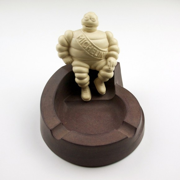 Michelin Man Bibendum Ashtray