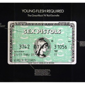 "SEX PISTOLS ""Young Flesh Required"" Jamie reid"